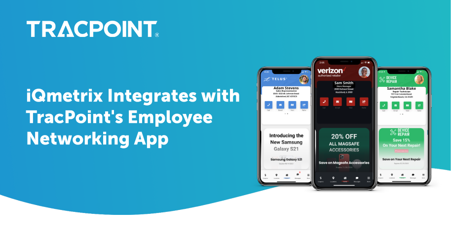 iQmetrix Integrates with TP Employee Networking App tile