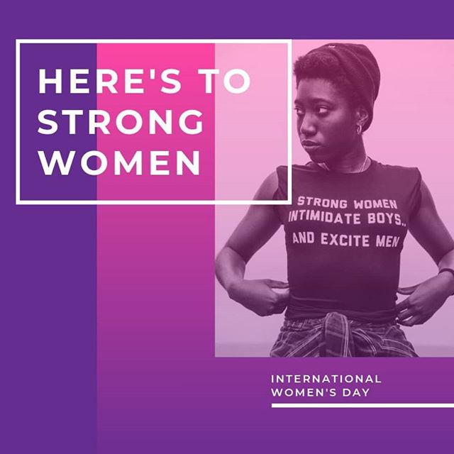 Happy International Women's Day! #womenempowerment #internationalwomensday