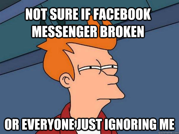 facebook messenger meme